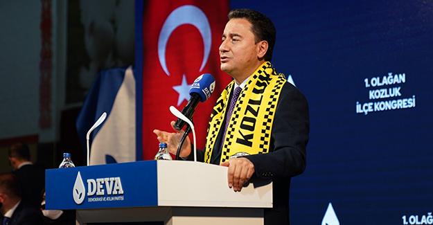 Ali Babacan'dan Cumhur İttifakı'na Davet
