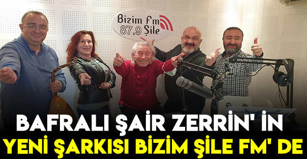 Bafralı Şair Zerrin' İn Yeni Şarkısı Bizim Şile Fm' De