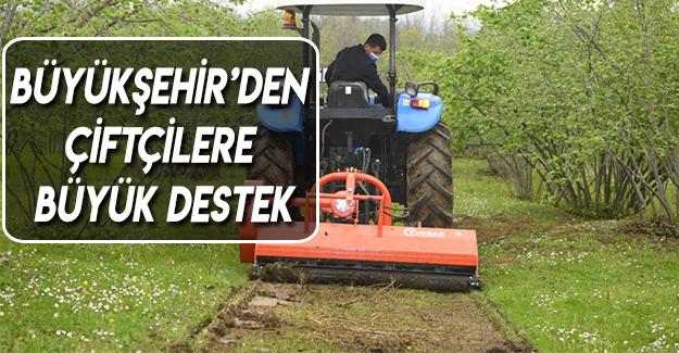 Büyükşehir'den Çiftçilere Büyük Destek