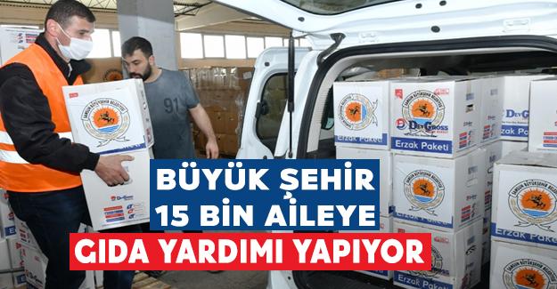"""Büyükşehir'den """"Ramazan Yardımı"""""""
