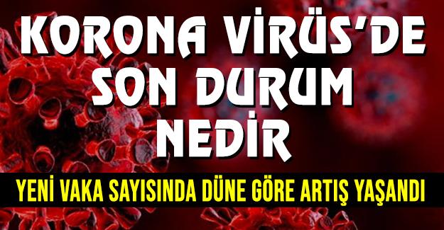 Korona virüs'de bugün
