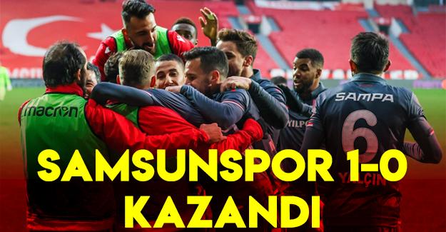 Samsunspor 1-0 kazandı