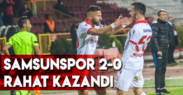 Samsunspor 2-0 Rahat Kazandı