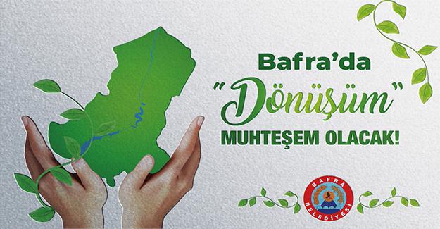 Bafra Belediyesi Şimdi De Geri Dönüşüme Hazırlanıyor