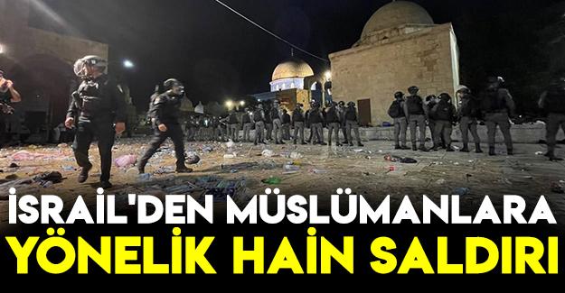 İsrail'den Müslümanlara Yönelik Hain saldırı
