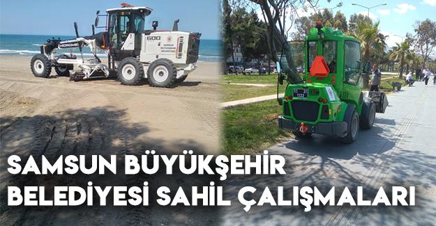Samsun Büyükşehir Belediyesi Sahil Çalışmaları