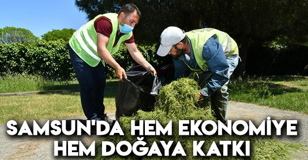 Samsun'da Hem Ekonomiye Hem Doğaya Katkı