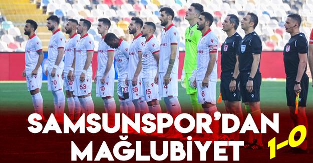 Samsunspor'dan Mağlubiyet