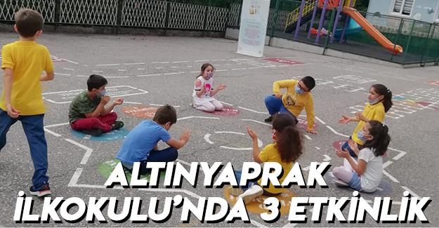 Altınyaprak İlkokulu'nda 3 Etkinlik