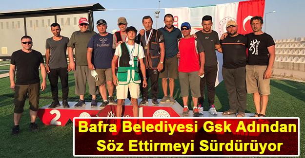 Bafra Belediyesi Gsk Adından Söz Ettirmeyi Sürdürüyor