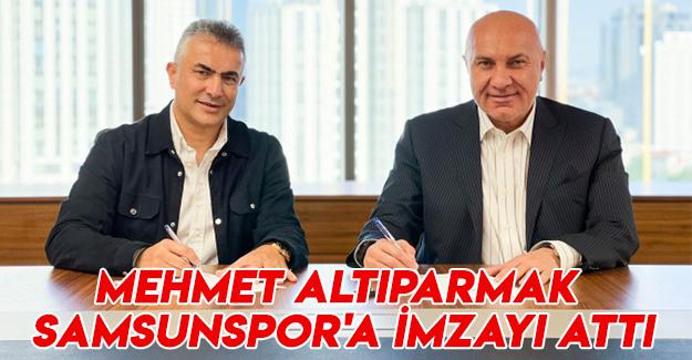 Mehmet Altıparmak İmzaladı