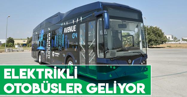 Samsun'a Elektrikli Otobüsler Geliyor
