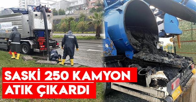 Saski 250 Kamyon Atık Çıkardı