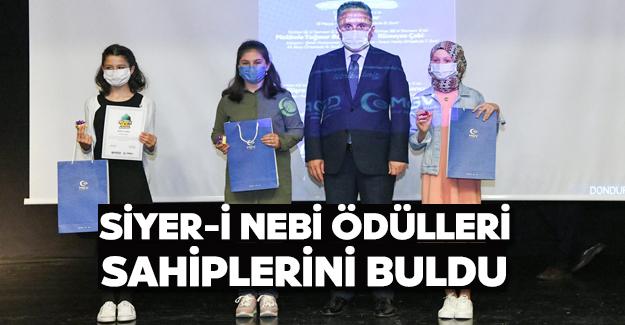Siyer-i Nebi Ödülleri Sahiplerini Buldu