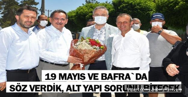 Başkan Demir,Söz Verdik, Alt Yapı Bitecek