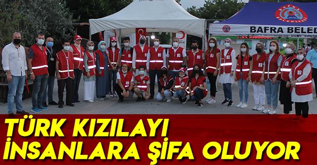Türk Kızılayı İnsanlara Şifa Oluyor