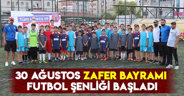 30 Ağustos Zafer Bayramı Futbol Şenliği Başladı