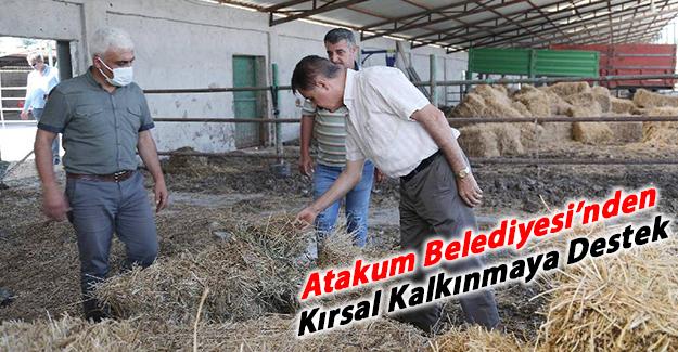 Atakum Belediyesi'nden kırsal kalkınmaya destek