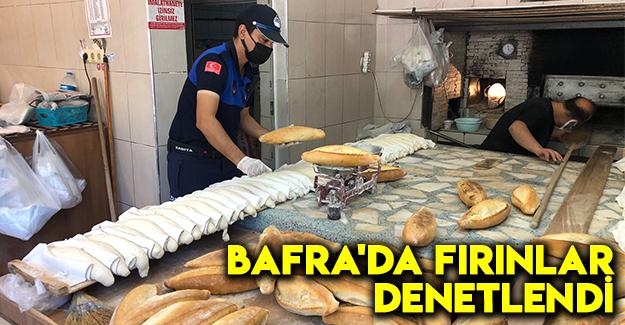 Bafra'da Fırınlar Denetlendi