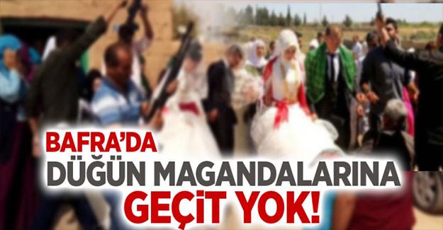 Bafra'da Düğün Magandalarına Geçit Yok