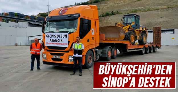 Büyükşehir'den Sinop'a Destek