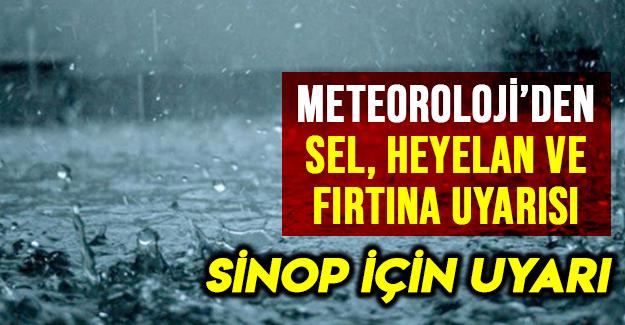 Meteorolojiden uyarı dikkat!