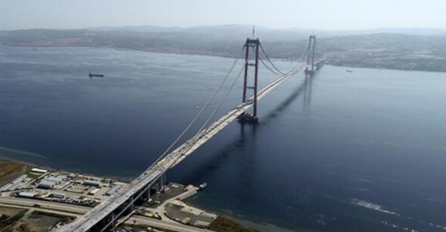 Çanakkale Köprüsü geçiş ücreti 152 tl