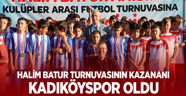 Halim Batur Turnuvasının Kazananı Kadıköyspor Oldu