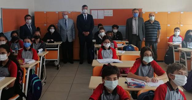 İl Milli Eğitim Müdürü YİĞİT Bafra' da