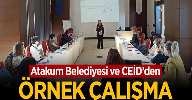 Atakum Belediyesi ve CEİD'den örnek çalışma