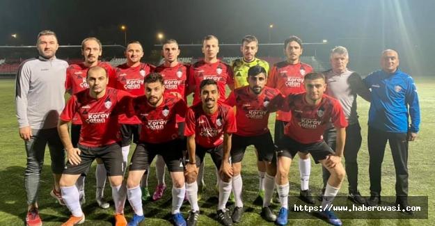 Hacınabispor Türk Telekom'u mağlup etti