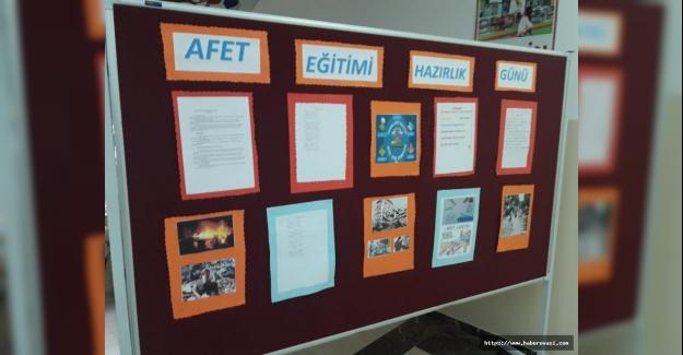 İsmet İnönü İlkokulu Afet Bilinci Etkinlikleri