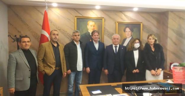 İYİ Parti Samsun İl Başkanlığı Plaket Taktimi