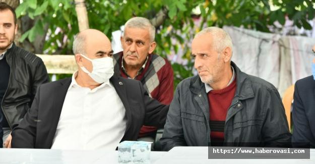 Samsun Valisi Şehit ailesine taziyede bulundu