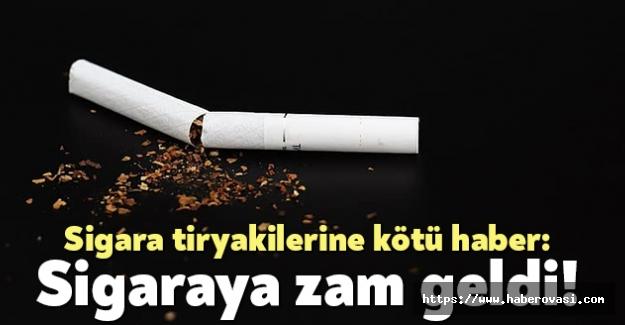 Ünlü sigara firması zam yaptı