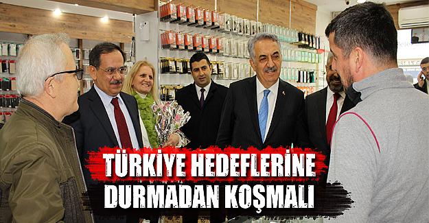 Mustafa Demir,Güçlü Türkiye için el ele vermeliyiz