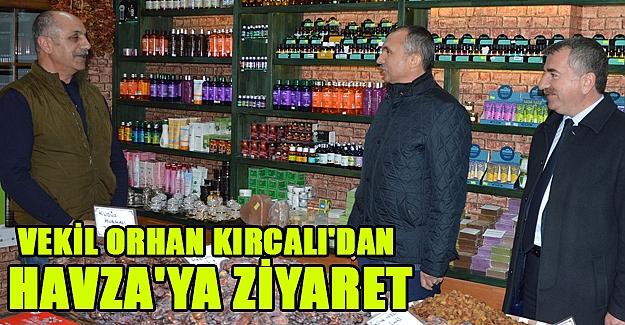 Vekil Orhan Kırcalı'dan  Havza'ya Ziyaret