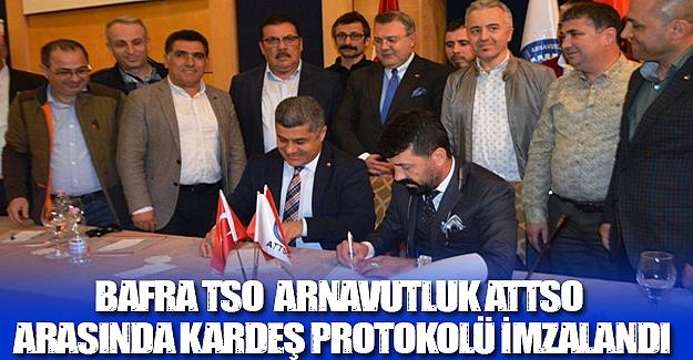 Bafra Tso  Arnavutluk Attso kardeş protokolü