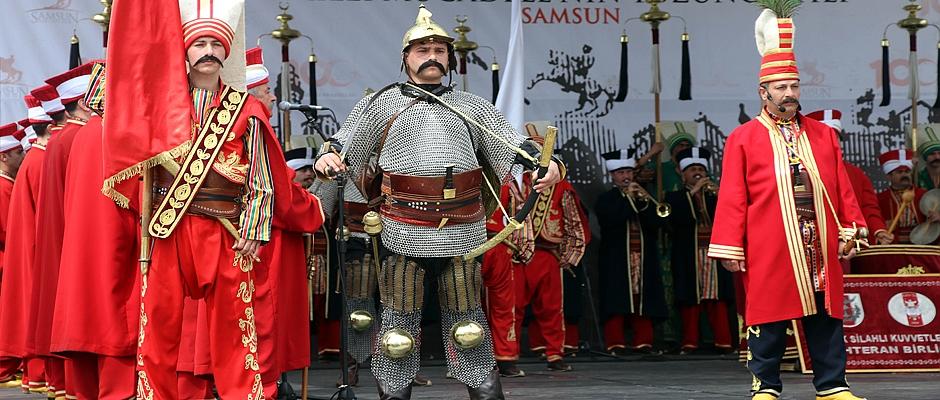 Samsun'da Milli Mücadele görkemli kutlanıyor