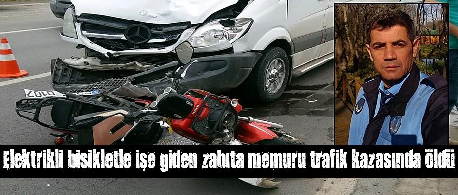 Samsun`da zabıta memuru trafik kazasında öldü