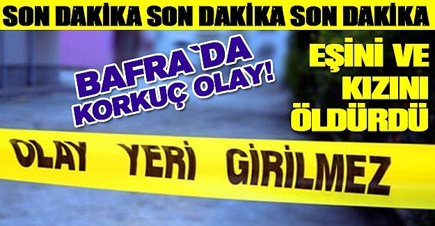 Bafra TOKİ`de Korkunç Olay!