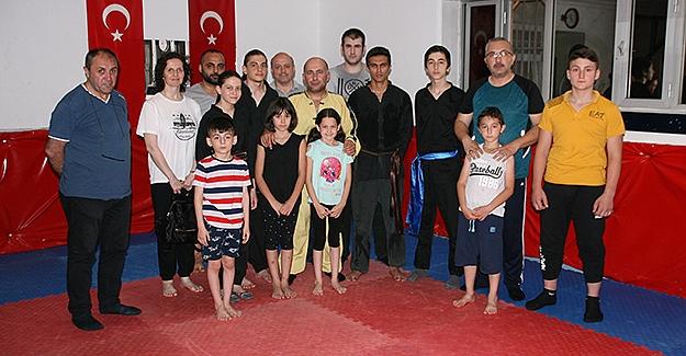 Kungfu eğitimleri Samsun'da sürüyor