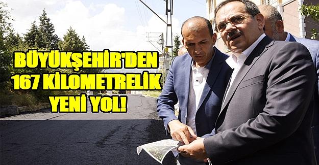 Başkan Demir açıkladı 167 km yol