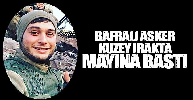 Bafralı Asker Irakta Mayına Bastı.