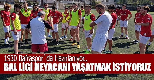 Bafraspor'da Sezon Hazırlıkları Devam Ediyor