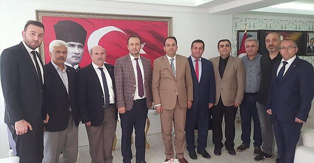 Türkiye Kamu-Sen`den Ertürkmen'e ziyaret