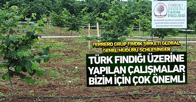 Ferrero Fındık Türkiye yöneticilerini de tebrik etti