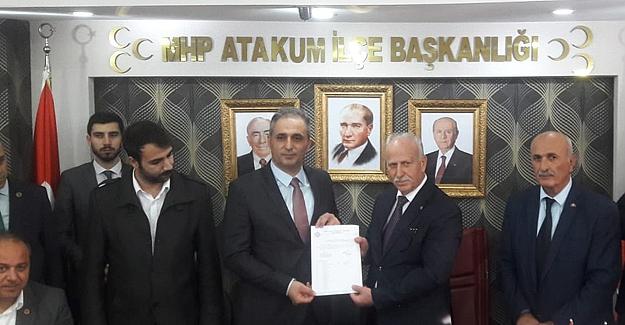 MHP ATAKUM'DA BAYRAK DEĞİŞİMİ TAMAM
