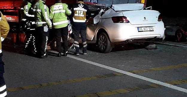 Trafik Kazasında Bafralı genç vefat etti
