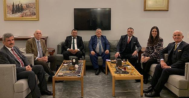 Yılmaz'dan bakan yardımcısı Demircan'a ziyaret